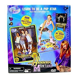 amazoncom hannah montana instructional dvd amp dance mat