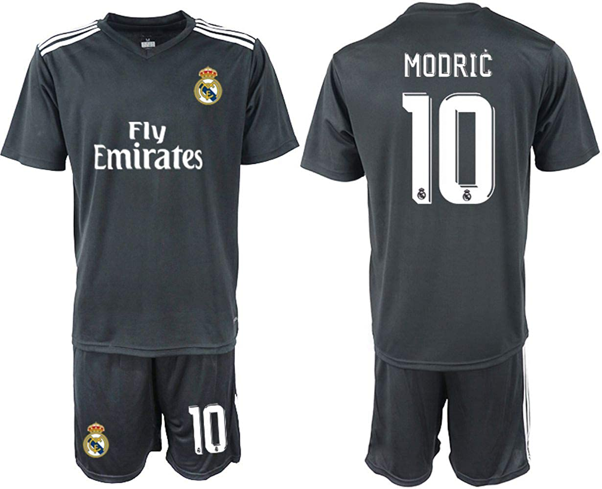 2018-2019 New Real Madrid Modric Kid's Soccer Jersey