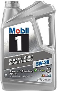 Mobil 1 5W-30 5-Qt Synthetic Motor Oil