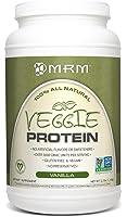 MRM - Veggie Protein Powder, All Natural Protein Source For Vegans, Gluten-Free and Non-GMO Verified (Vanilla, 2.5 lbs)