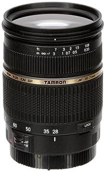 Tamron SP AF28 75mm F/2.8 XR Di LD Aspherical [IF] Macro Lens for Canon DSLR Camera