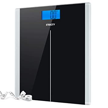 90cc7a11cc0 Amazon.com  Etekcity Digital Body Weight Bathroom Scale with Step-On ...