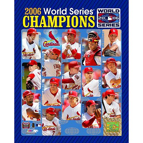 2006 8x10 Framed Photo - Photo File St. Louis Cardinals Cardinals 2006 World Series Champions Composite Framed Photo (8x10)