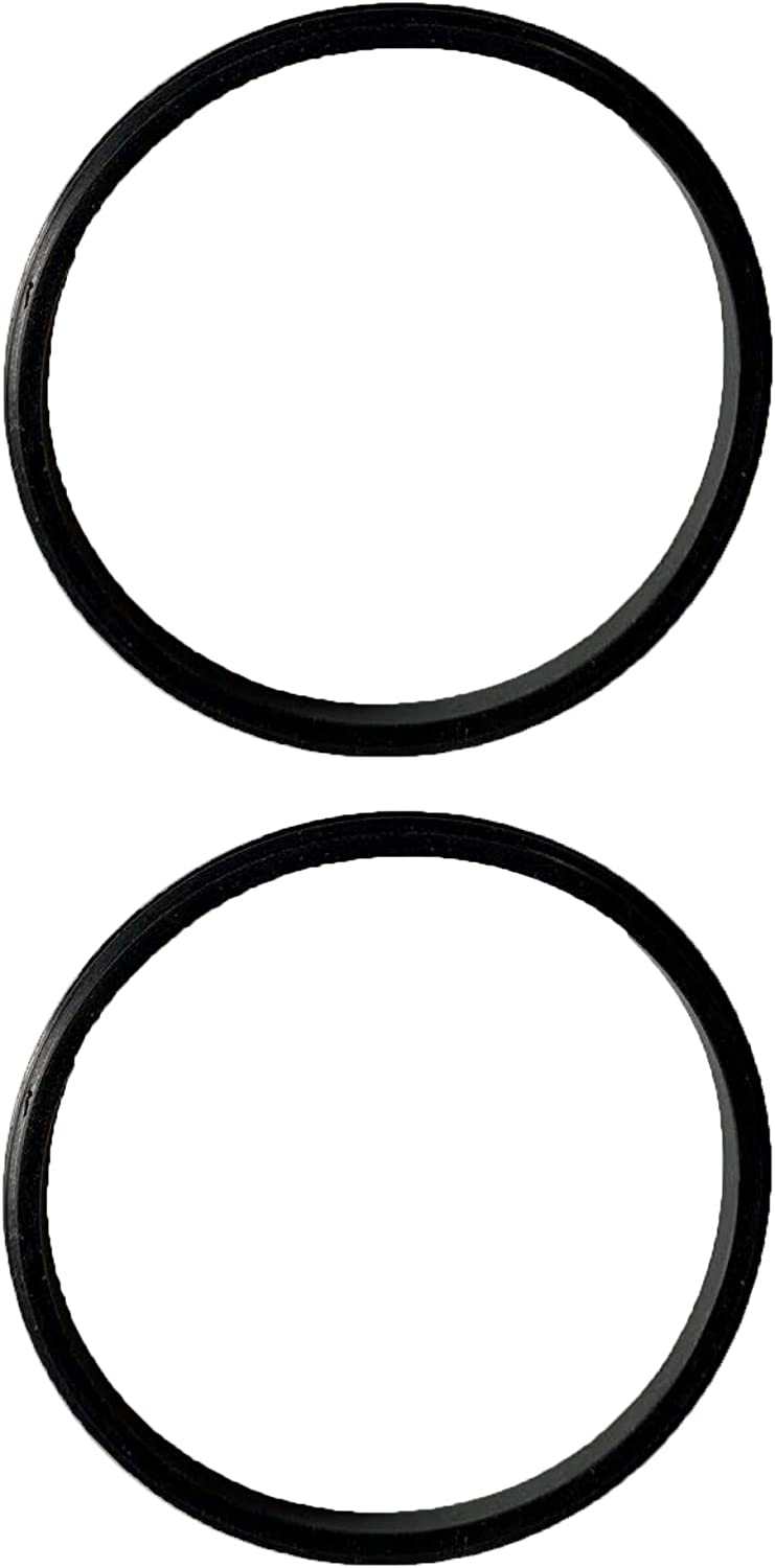 2 Pack New Replacement Black Rubber Lid Gaskets/Seals for 10, 12, 16, and 20 oz Insulated Stainless Steel Tumblers Such As Yeti Ozark Trail RTIC Mossy Oak