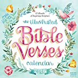 The Illustrated Bible Verses Wall Calendar 2016