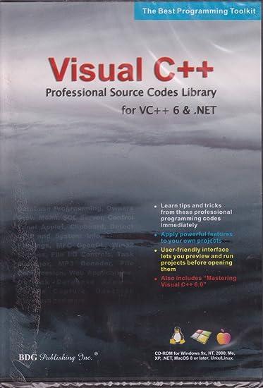 Amazon com: BDG PUBLISHING Visual C++ Source Code for Visual