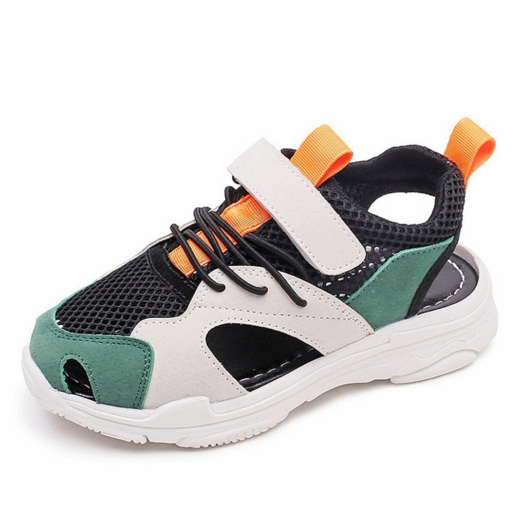 CYBLING Boys Girls Summer Breathable Closed-Toe Athletic Sport Sandals Beach Shoes (Toddler/Little Kid)
