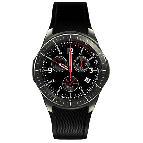 Relojes Intelligent Smart watch Bluetooth Teléfono Pulsómetros, Cronómetro, Gps para running, Notificación de