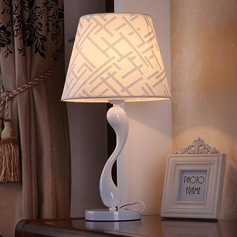 Morey lampada studio moderno e minimalista camera da letto lampada da  comodino interruttore pulsante creativo moda cigno (formato; 28 * 52  centimetri)