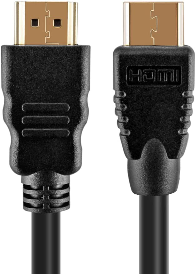 High Speed Video Audio AV HDMI Male C to Male A Premium Connector Converter Adaptor Cord Supports 3D TNP Mini HDMI to HDMI Cable 15 Ft Adapter ARC