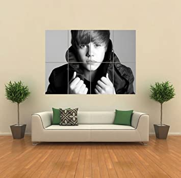 JUSTIN BIEBER GIANT POSTER WALL ART PICTURE G864 Part 95