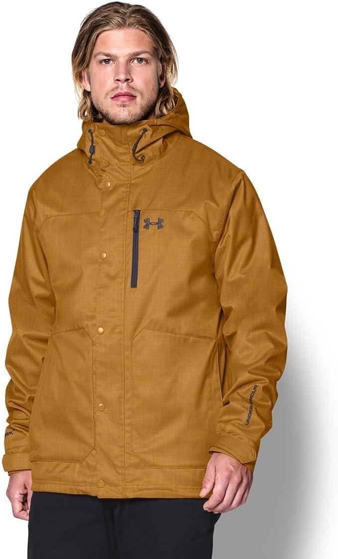 Under Armour 安德玛 Storm ColdGear UA 防风防水透气 男式冲锋衣夹克 1247044 L码2.8折$55.95 海淘转运到手约¥386