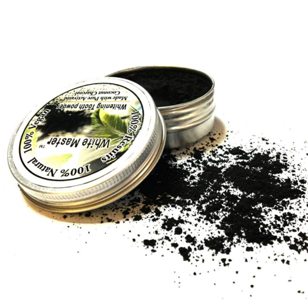 JPJ(TM) New❤Teeth Powder❤1pcs Hot Fashion Teeth Whitening Natural Organic Activated Charcoal Bamboo Powder with Toothbrush (Multicolor) by ❤JPJ(TM)❤️_Hot sale (Image #6)