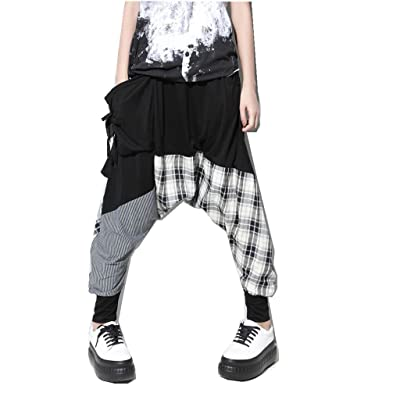Ace Mall Women Hip Hop Sweat Pants Harem Baggy Trousers Free Size