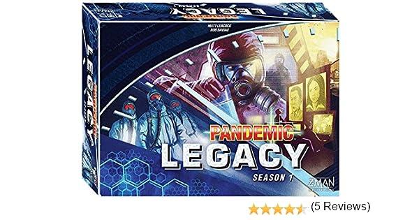 Pandemic Legacy S1 (caja Azul): Amazon.es: Juguetes y juegos