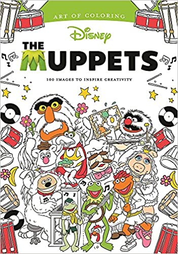 Amazon Art Of Coloring Muppets 100 Images To Inspire Creativity 9781484788899 DBG Books