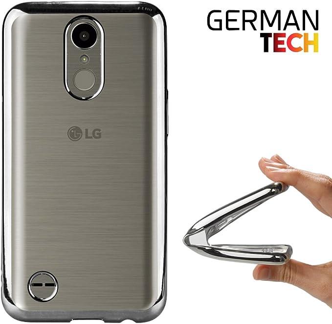 German Tech Funda Gel para LG K10 2017. Carcasa Transparente con ...