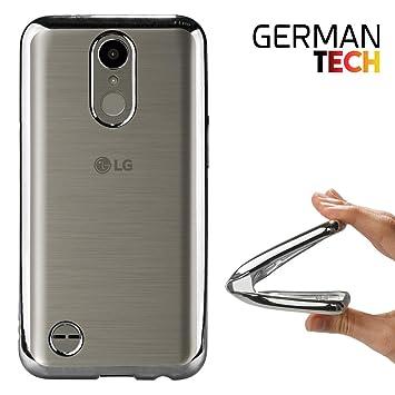 German Tech Funda Gel para LG K10 2017. Carcasa Transparente ...