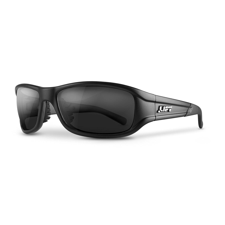 LIFT Safety Alias Safety Glasses (Black Frame/Dark Smoke Lens) EAS-10KST15