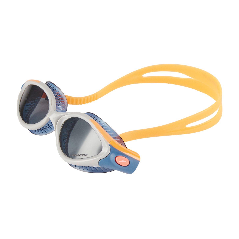 Taille Unique Fluo Orange//Stellar//Smoke Speedo Futura Biofuse Flexiseal Triathlon Lunette Femme