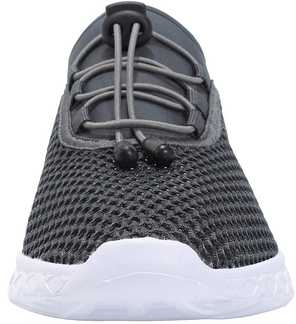 OREEO Water Shoes for Men and Women Barefoot Quick-Dry Aqua Sock Outdoor Athletic Sport Shoes for Kayaking//Boating//Surfing//Walking