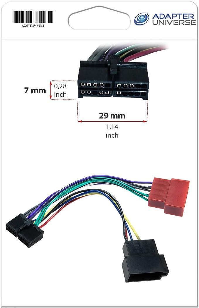 Adapter Universe Auto Radio Adapter Kabel 16 Pin Din Elektronik