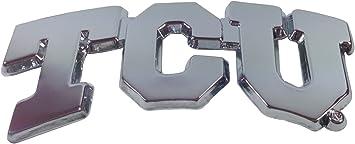 TCU Horned Frogs TCU Premier Chrome Metal Auto Emblem