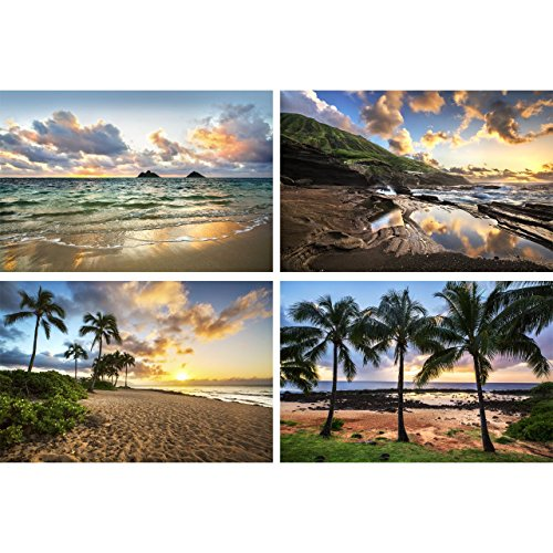(Hawaii Photo Set, Hawaiian Sunsets by TravLin Photography, Multiple Sizes (5x7 to 16x20))