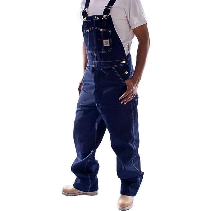d46afed10f Carhartt Peto Vaquero - Color de A hombre Industriales monos ropa de trabajo  R08  Amazon.es  Ropa y accesorios