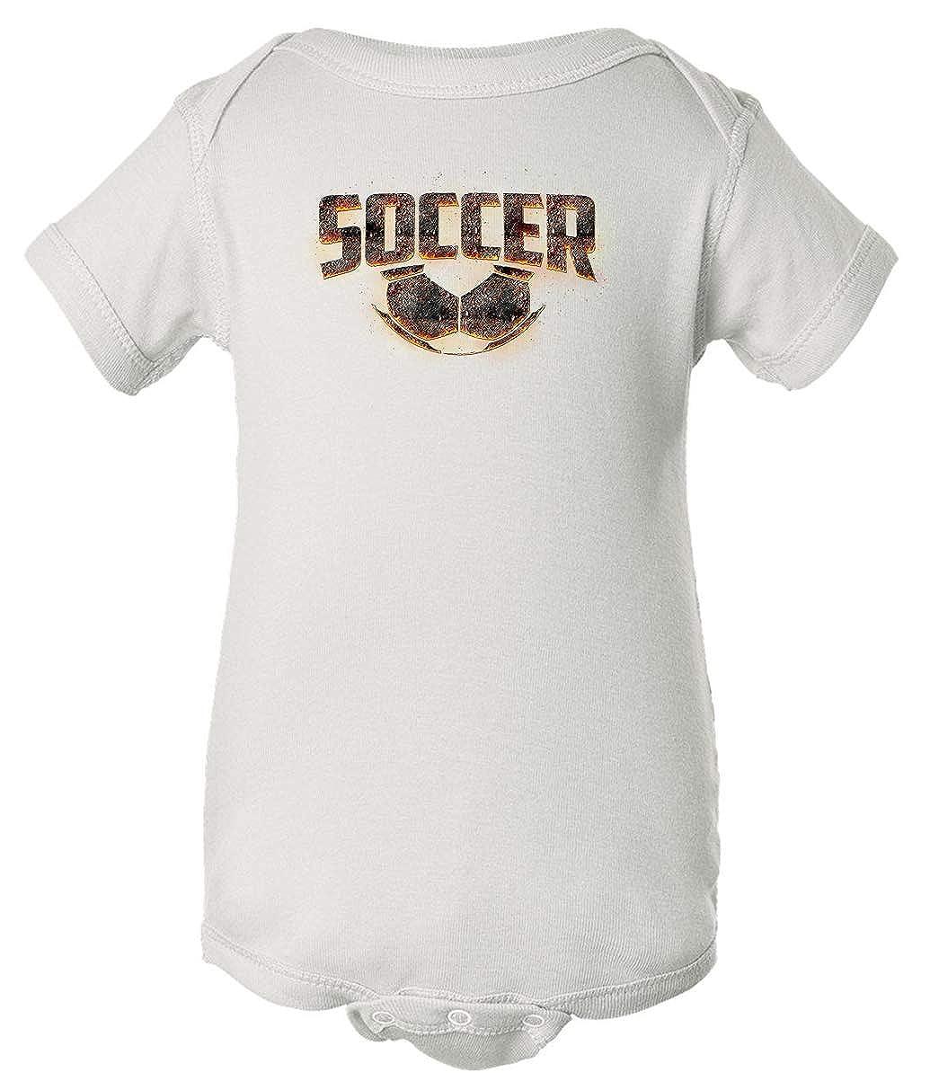 Tenacitee Babys Molten Soccer Shirt