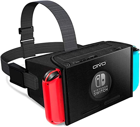 Auriculares VR para Nintendo Switch, OIVO 3D Labo Virtual Reality anteojos para Youtube & Super Smash Bros. & Zelda & Super Mario Odyssey: Amazon.es: Videojuegos
