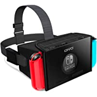 Auriculares VR para Nintendo Switch, OIVO 3D Labo realidad virtual anteojos auriculares para Youtube & Super Smash Bros. & Zelda & Super Mario Odyssey