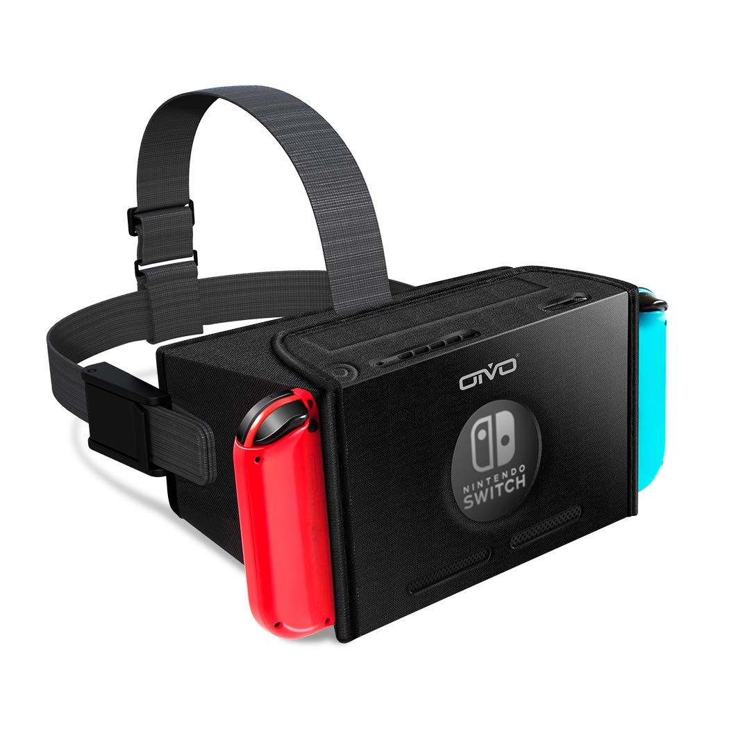 VR Headset for Nintendo Switch, OIVO 3D Labo Virtual Reality Glasses Headset for Youtube & Super Smash Bros. & Zelda & Super Mario Odyssey by OIVO