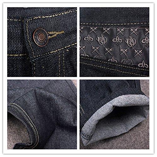 be4d103978 YY-Rui Men s Classic Plain Loose Hip Hop Dance Casual Baggy Black Jeans  Denim outlet
