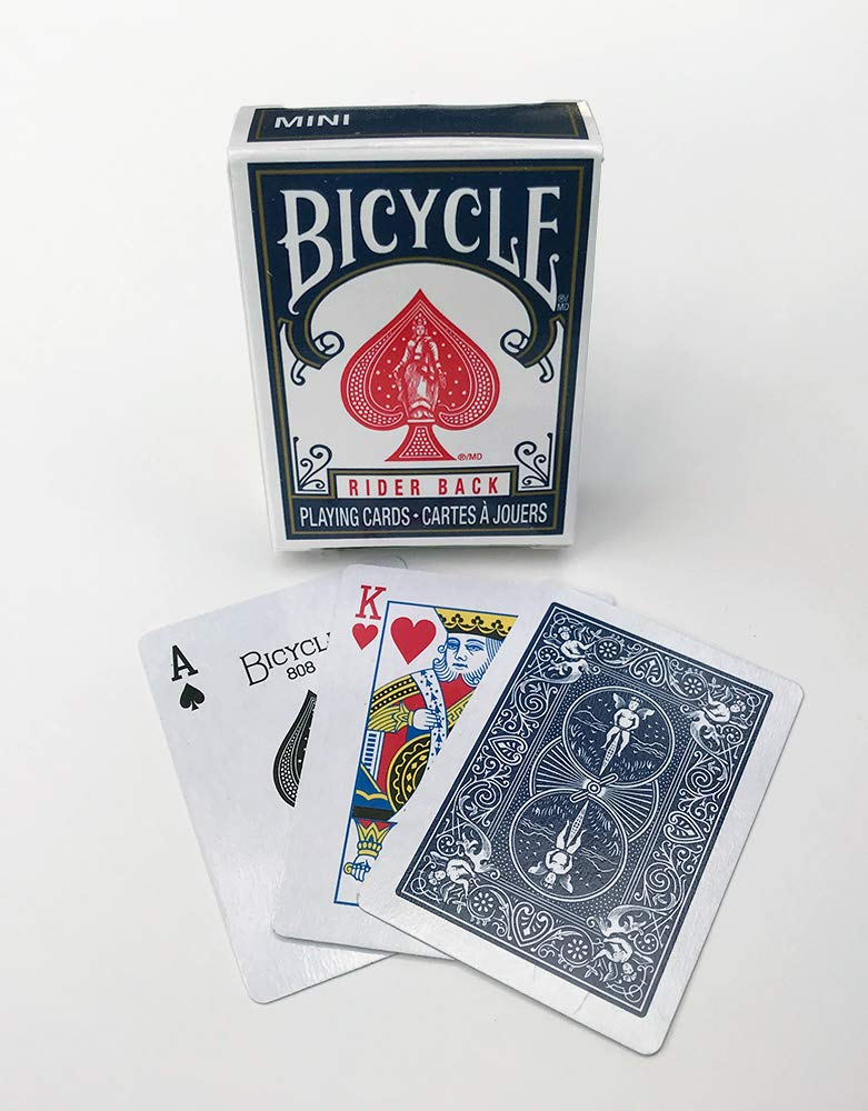 Bicycle Mini Decks Playing Cards - Single Deck - (Color May Vary) - Smaller Than Traditional Deck