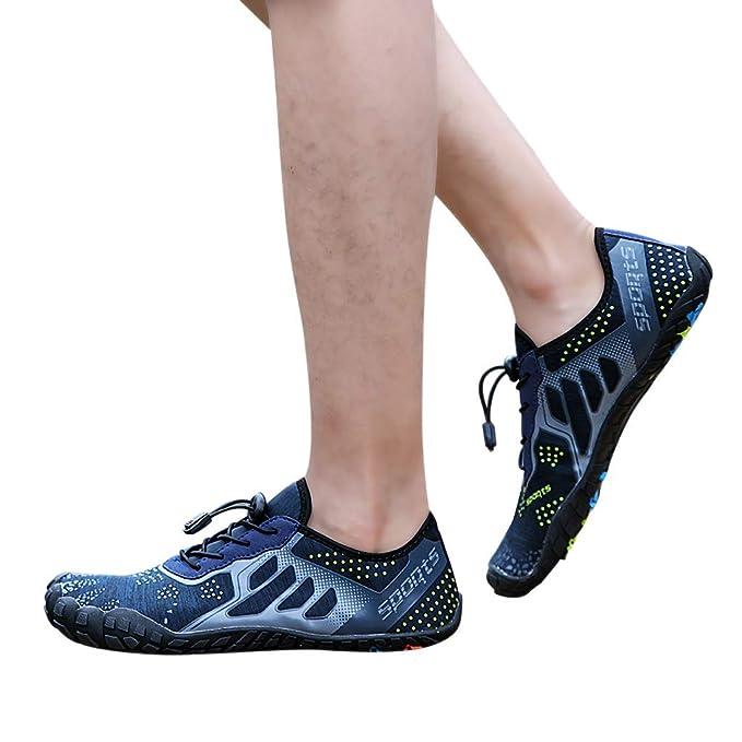 Btruely Zapatos de Agua Beach Swim Secado Rápido Zapatillas Respirables para Surf Voleibol Yoga Unisex Hombres Mujeres: Amazon.es: Ropa y accesorios