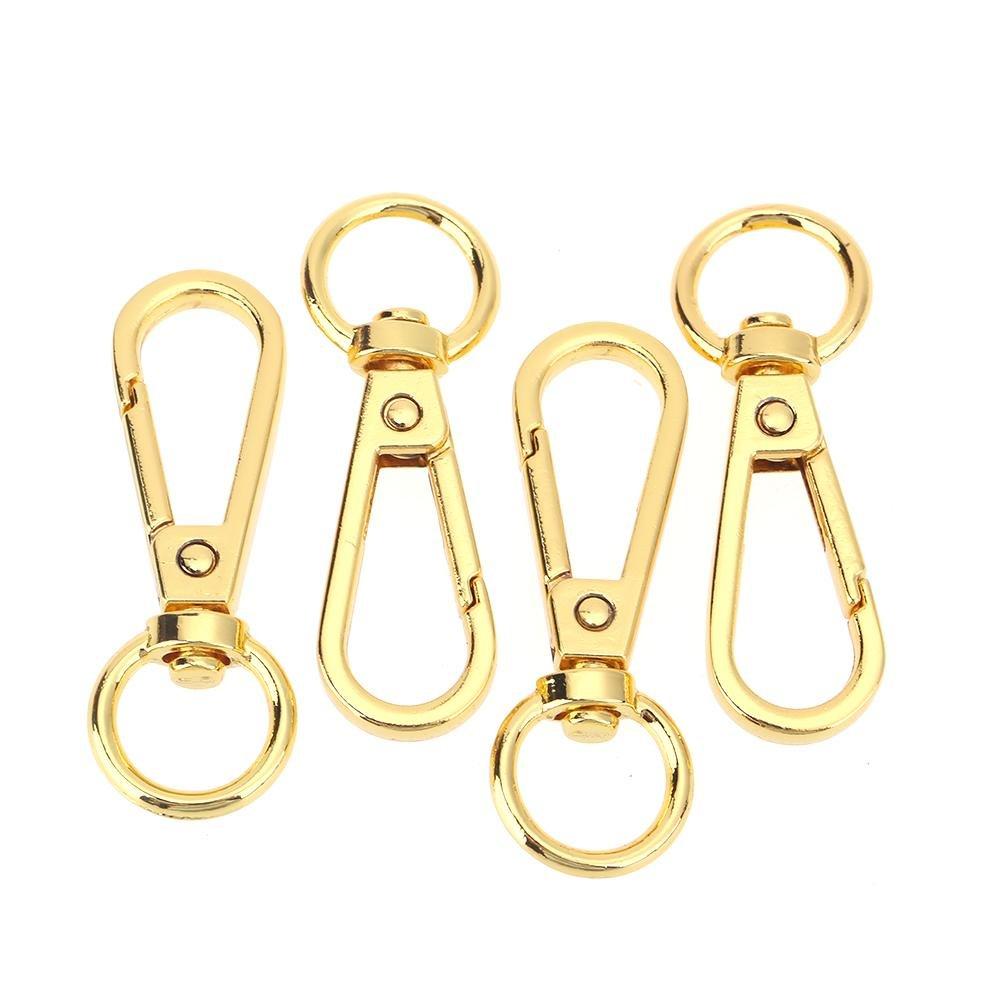 bronce Broadroot 4 piezas de metal vintage bolsa de equipaje bolsa de perro hebilla cierre de gancho bolsa cierre DIY llavero