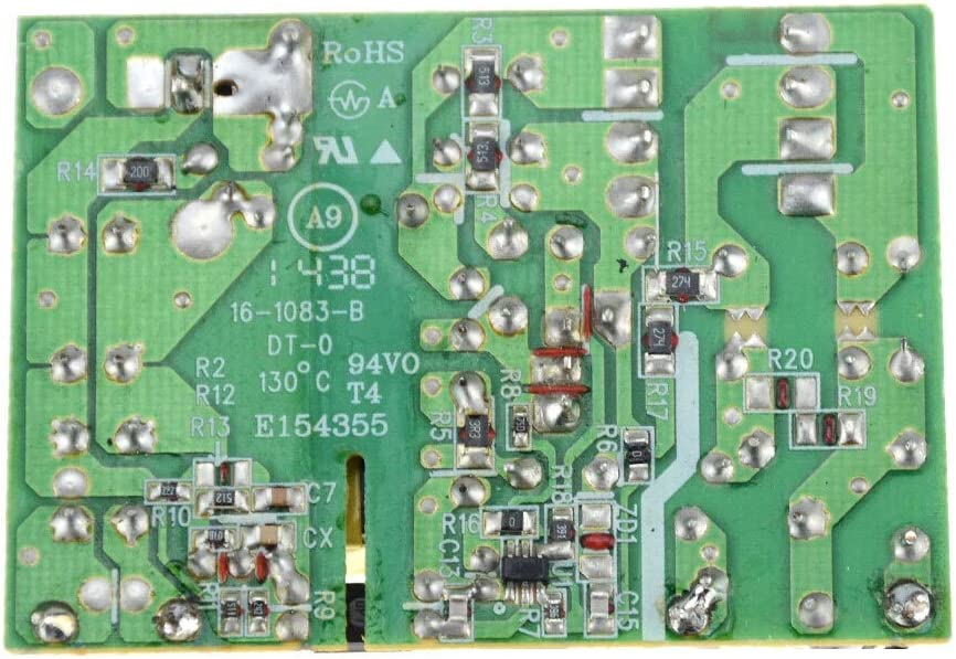 YIWMHE AC-DC 12V 2A 2000MA Switching Power Supply Module AC DC Switch Circuit Bare Board for Replace Repair LCD Display Board Monitor Color : 1PCS