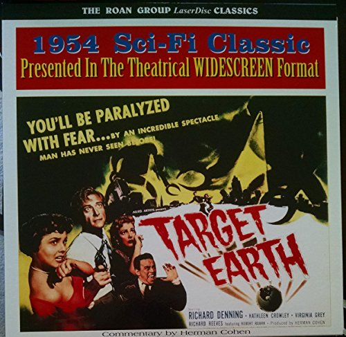 Target Earth: Special Edition Laserdisc (1954) (Limited Edition Target)