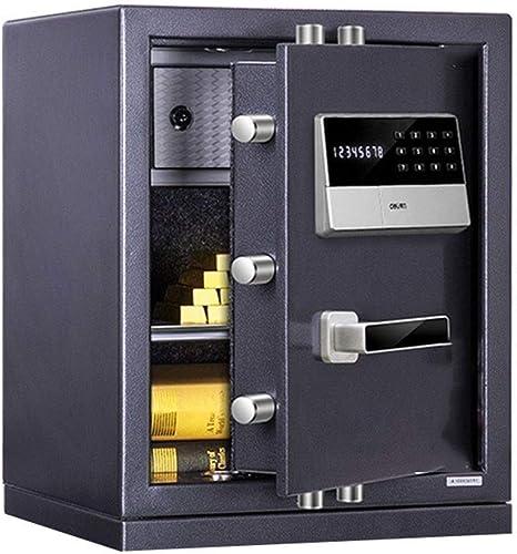Wtbew-u Caja de Seguridad con código Seguro Grande, Contraseña electrónica Caja de Seguridad Segura Caja de Seguridad Caja Fuerte, Caja Segura, Caja de Seguridad (tamaño: 38 * 32 * 48 cm): Amazon.es: