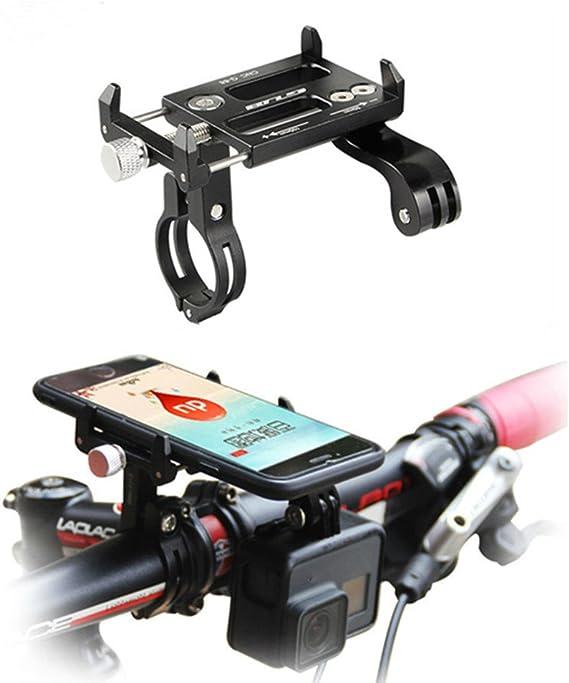 Adjustable Universal Motorcycle Bike Bicycle Phone Holder Mount MTB Handlebar