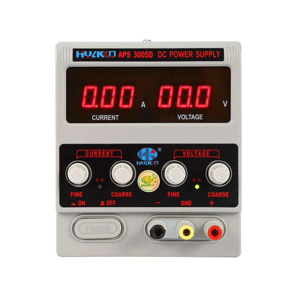 /30/V DC ajustable de alimentaci/ón Precisi/ón variable Digital Lab 0/ Fuente de alimentaci/ón de corriente continua /10/A 0/