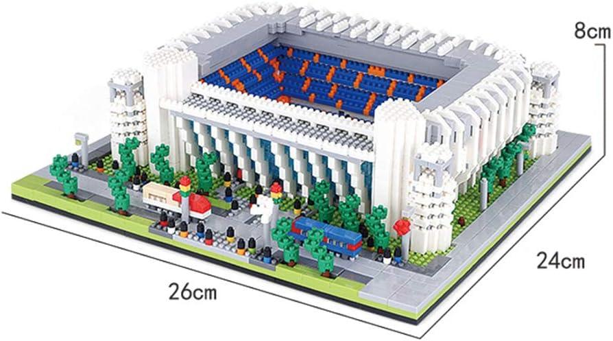 SDBRKYH Santiago Bernabéu del Rompecabezas 3D, Real Madrid Club Estadio Juguete Modelo del Rompecabezas para la Educación: Amazon.es: Deportes y aire libre