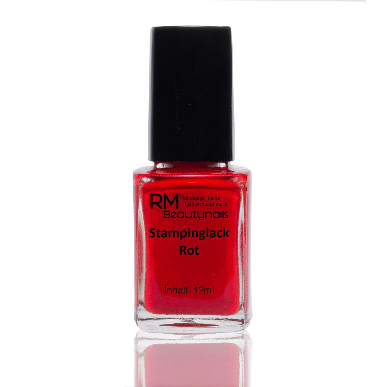 stampinglack Rouge 12ml de vernis vernis à ongles Nail Polish RM Beautynails