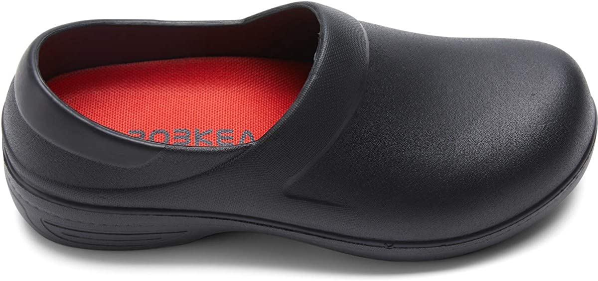 Professional Slip Resistant Clogs | Oil Resistant Waterproof | Safety Work for Crews Non Slip for Chef Nurse