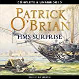 Front cover for the book H.M.S. Surprise by Patrick O'Brian
