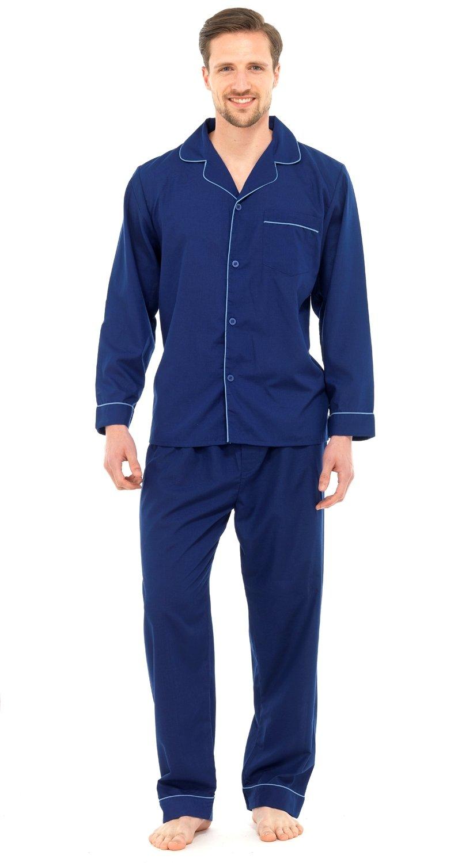 Mens Champion Summer Cotton Short Pyjamas Sleepwear Nightwear 3156 Sky L
