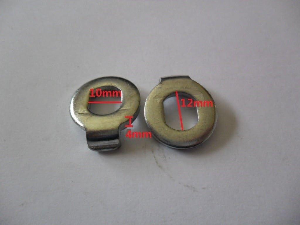 EBIKES EBike Hub Motor Axle M12//M14 Lock Nut Lock Washer Spacer Nut Cover