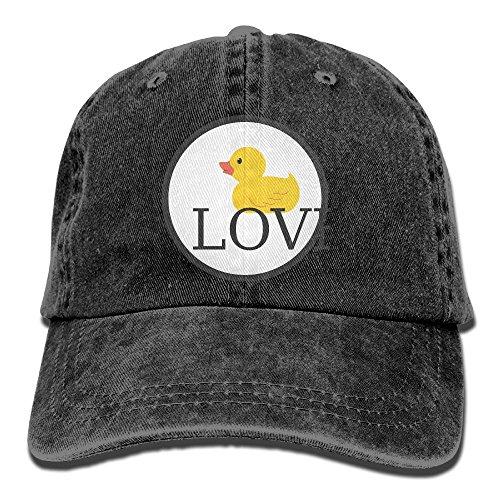 GqutiyulU Duck Love Adult Cowboy Hat Black ()
