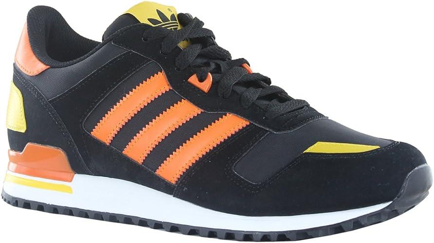 Adidas ZX700 Black Orange Mens Trainers Size 8.5 UK : Amazon.co.uk ...